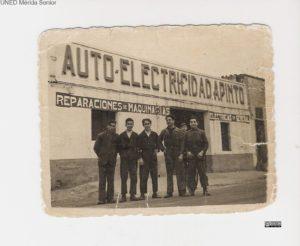 EMPRESA AUTO-ELECTRICIDAD A. PINTO AÑOS 50