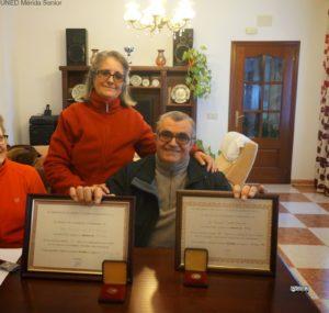 MANUEL CONDE VAZQUEZ Y JUANI ,SU MUJER